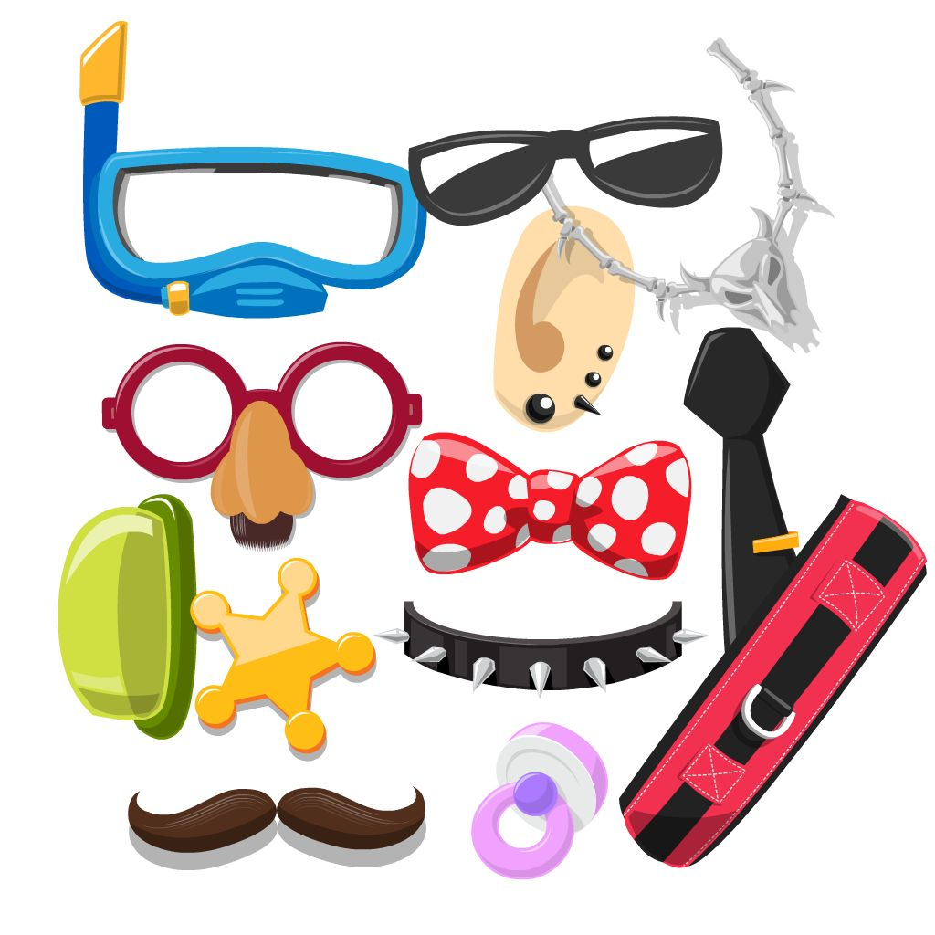 dress up stickers free for imessages