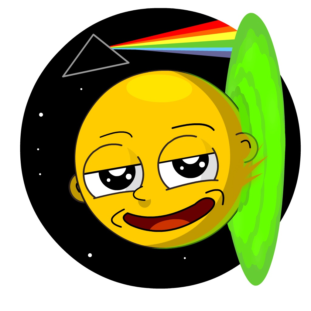 emoji rick and Morty inspired iOS stickers