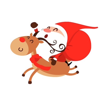 santa stickers for iOS messages