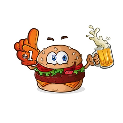 Tailgating Stickers for iOS Messages
