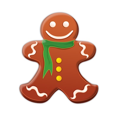 christmas cookies stickers for iOS messages