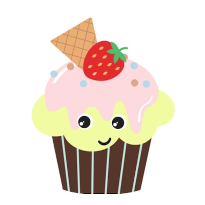 cupcake stickers free for iOS messages