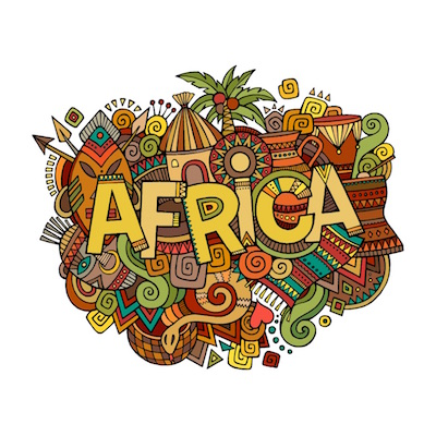 free africa stickers for ios