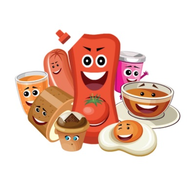free grocery stickers for iOS messages