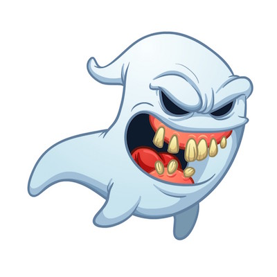 ghost stickers for iOS 10 message apps