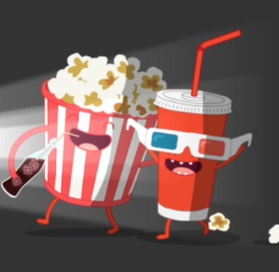 Movie Theater Stickers for imessage