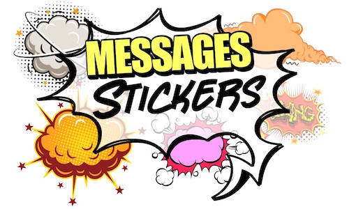 Messages Stickers