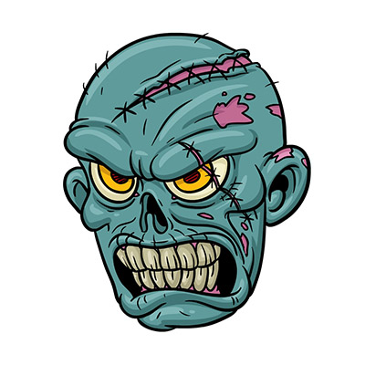 zombie stickers free for imessages
